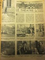 1947   Dans BOULOGNE-SUR-MER Le Théatre  A Ouvert Ses Portes - Boulogne Sur Mer
