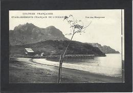 CPA Océanie Polynésie Française Les Marquises Circulé - French Polynesia