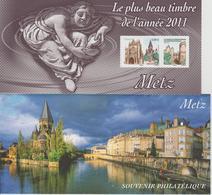 Bloc Souvenir 75 Metz Neuf Avec Carton - Souvenir Blocks & Sheetlets