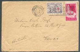 Lettre Affr. 1Fr.75 (port Exact) Avec 75c. CHEVALIER (surtaxe) + 1Fr. Expo De Bruxelles Du 21-II-1935 Vers Wien. - 13564 - Belgium