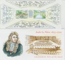 Bloc Souvenir 80 Jardins André Le Notre Neuf Avec Carton - Souvenir Blocks & Sheetlets