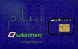 Malaysia GSM SIM Cards, (1pcs,MINT)(sample) - Malaysia