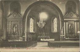 CPA De LUSSE - L'Intérieur De L'Eglise. - Autres Communes