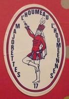 Autocollant L'Houmeau 17. Majorettes L'houmeennes . Vers 1960-70. - Autocollants