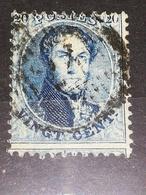 COB N °15 Oblitération D 24 -  Ingelmunster - 1863-1864 Médaillons (13/16)