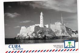 CUBA 1999   ENTIER POSTAL/GANZSACHE/POSTAL STATIONERY CARTE POSTALE ILLUSTREE THEME PHARES - Cuba