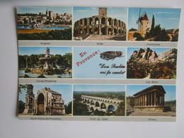Provence. Avignon. Arles. Fontvieille. Aix En Provence. Les Baux. Saint Remy. Pont Du Gard. Nimes. AS De Coeur 13.600/19 - Provence-Alpes-Côte D'Azur