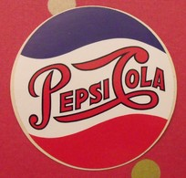 Autocollant Pepsi-Cola. Soda. Vers 1960-70. - Stickers
