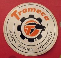Autocollant Tromeca. Motor  Garden Equipment. Vers 1960-70. - Stickers