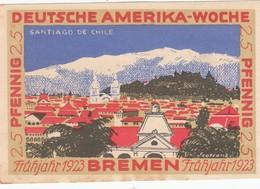 Billet Allemand - 25 Pfennig - Bremen 1923 - Deutsche Amerika Woche - [11] Emissions Locales