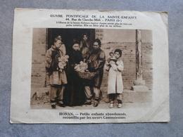 Tournay 1938. Oeuvre Pontificale De La Sainte-Enfance. - Diplômes & Bulletins Scolaires
