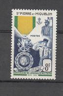 1952     N° 347   NEUF **    CATALOGUE YVERT - St.Pedro Y Miquelon