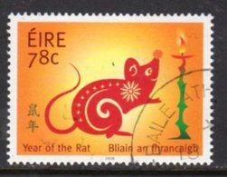 Ireland Chinese New Year Of The Rat, Used, SG 1881 - 1949-... Repubblica D'Irlanda