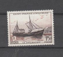 1956     N° 352   NEUF **    CATALOGUE YVERT - St.Pedro Y Miquelon