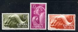 Rio Muni 1962 - Dia Del Sello Ed 32-34 (**) - Riu Muni