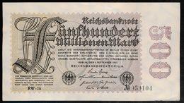 P110 Ro109d 100 Million Mark 01-09-1923. UNC NEUF!!! - [ 3] 1918-1933: Weimarrepubliek