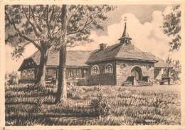 AIRIFAGNE LEZ BANNEUX N-D (Pepinster) - Centre D'acceuil Et De Retraites,carte Illustrée. - Pepinster