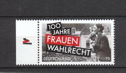Deutschland BRD ** 3435 100 Jahre Frauenwahlrecht  Neuausgabe 2.1.2019 - [7] République Fédérale