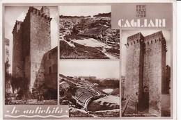A928 CAGLIARI - LE ANTICHITà - VEDUTINE - Cagliari