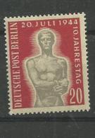 1954 MNH Berlin, Postfris** - Berlin (West)