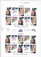 FEUILLE NEUVE** EUROPA 1997 TIMBRE N°4382/83 - CONTES ET LEGENDES - 1948-.... Republics