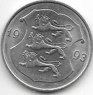 *estonia 1 Kroon 1993 Km 28 XF+ - Estonia