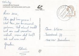 Netherlands Antilles 1997 Veldpost 6 Curacao Viewcard - Curaçao, Nederlandse Antillen, Aruba