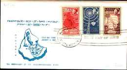 74795)  ETIOPIA:-FDC- 1963 - SERIE COMPLETA TELECOM.* N°405/07 - VEDI FOTO - Etiopia
