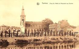 Tamines - Place St Martin Et Monument Aux Fusillés (fabrique De Poële) - Sambreville