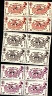 74797) Etiopia Ethiopia -1962 Contro La Malaria SERIE COMPLETA IN QUARTINA-MNH** - Etiopia