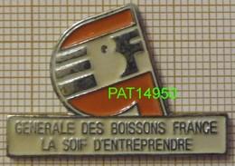 GBF GENERALE DES BOISSONS FRANCE  -  LA SOIF D'ENTREPRISE - Boissons