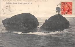 Costa Rica / 03 - Solitary Rock - Port Limon - Cachet Maritime - Costa Rica