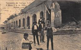 Costa Rica / 11 - Terremoto De Cartago - Belle Oblitération - Costa Rica