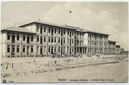 RIMINI - Sanatorio Comasco, Facciata Verso Il Mare (Viaggiata 1917) - Rimini