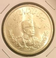 Reza Shah Pahlavi Silver 5000 Dinar - Iran