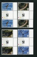 "WWF - Niuafo'ou - Mi.Nr. 607 / 610 Gutter Pair - ""Schwarzsturmvogel"" ** / MNH (aus Dem Jahr 2016) - W.W.F."