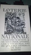 Affiche -  PUBLICITE -   LOTERIE NATIONALE - Publicités