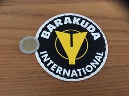 AUTOCOLLANT, Sticker «BARAKUDA INTERNATIONAL» (sport, Plongée) - Autocollants