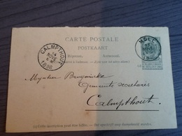 Bruyninckx Calmpthout(Kalmthout),Moll(Mol),1896. - Mol