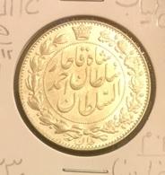 Ahmad Shah Qajar Silver 2000 Dinar - Iran