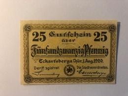 Allemagne Notgeld Eckertsberga 25 Pfennig - [ 3] 1918-1933 : République De Weimar
