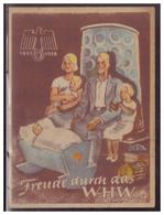DT- Reich (007440) Propaganda Türblatt, Freude Durch Das WHW 1937/1938 Zweite Wahl!! - Deutschland
