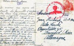 Cpa De Biel à Francfort 1942 - Censure De La Wehrmacht - Zensur Der Wehrmacht - Lettres & Documents