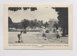 JEUX D ENFANTS Au Jardin Du Luxembourg - Cerceau - Patinette - Animée - Postcards