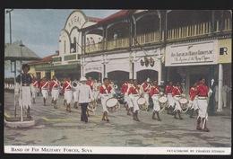 Fiji -Band Of  Military Forces Music   In Suva - Fidji