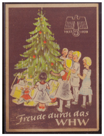 DT- Reich (007441) Propaganda Türblatt, Freude Durch Das WHW 1937/1938 Zweite Wahl!! - Deutschland