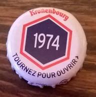 France Capsule Bière Crown Cap Beer Kronenbourg Les Années Qui Comptent 1974 - Bière