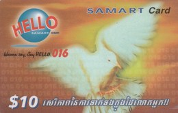 Cambodia - Pigeon 10$ - Kambodscha