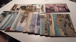 Lot De 25 CPSM Francaises, Espagnole, Italienne Et Egyptienne - Postcards