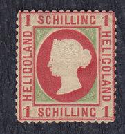 Germany Heligoland 1869/1873 Value Of 1 Schilling, MH (*) - Héligoland